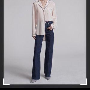 NWT rag & bone Derby Wide Leg Jeans